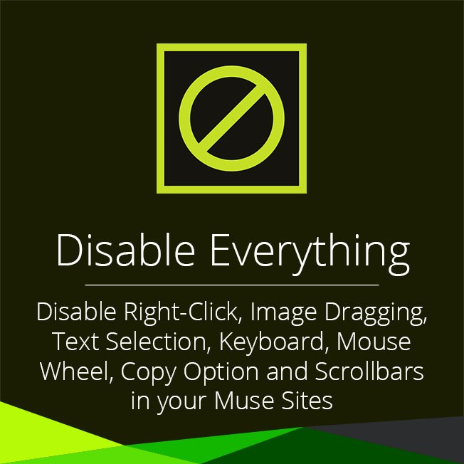 Disable Everything