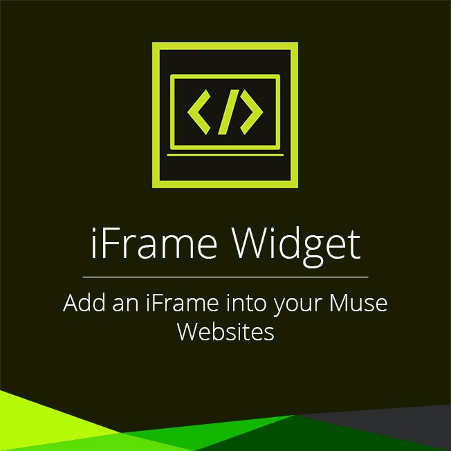... preview this widget allows you to add iframe into your muse websites