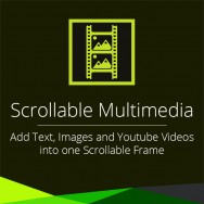 Scrollable Multimedia