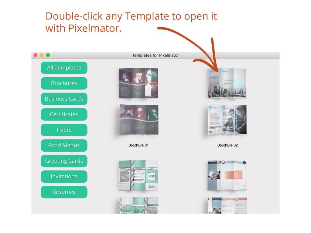 Templates For Pixelmator Mac App
