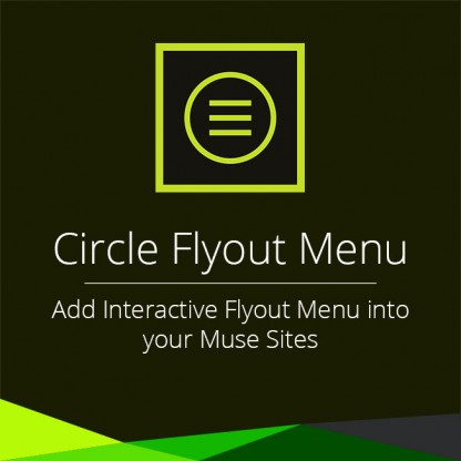 Circle Flyout Menu