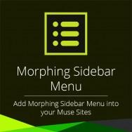 Morphing Sidebar Menu